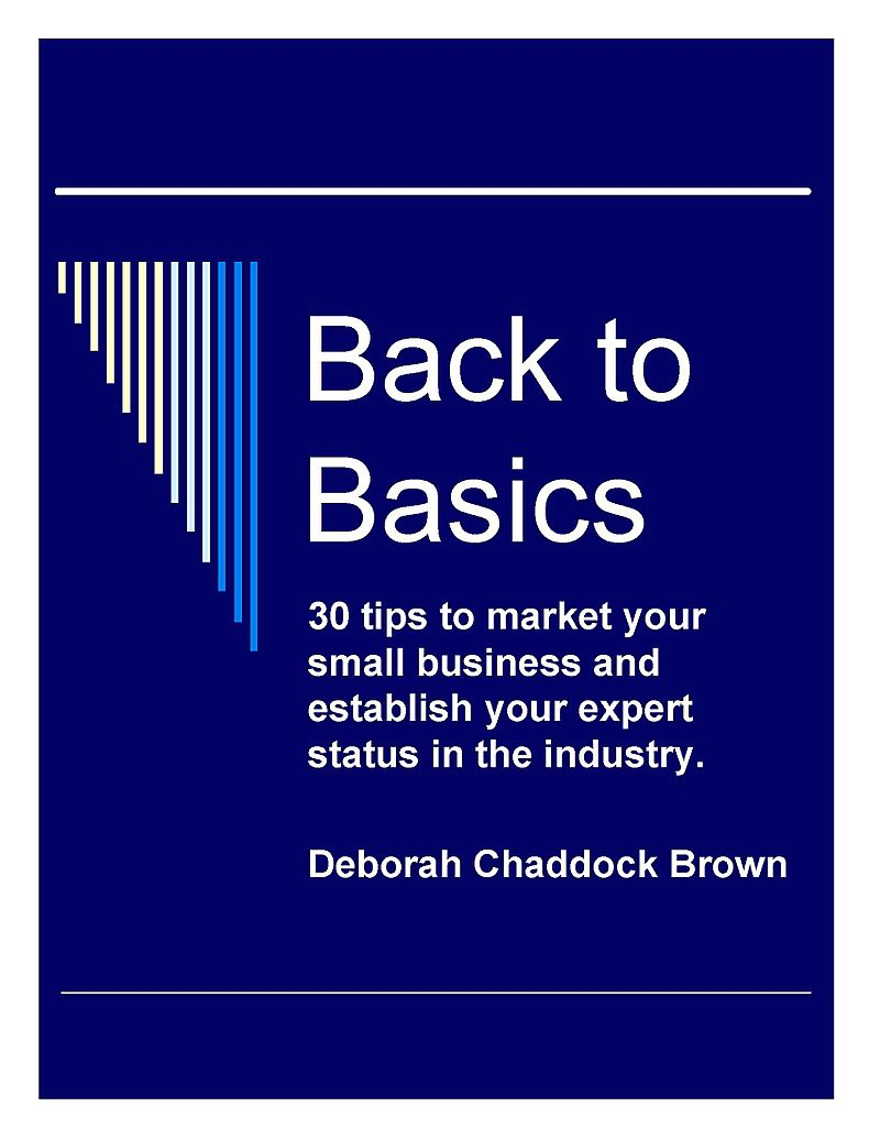 Back to Basics cover